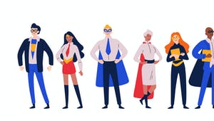 L'origine des super-héros