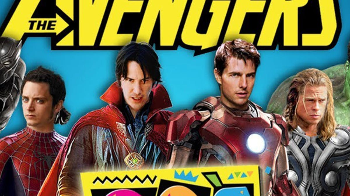 bande annonce avengers version années 90 what's the       mashup ? marvel