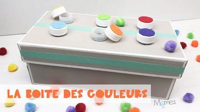 La boîte des couleurs (inspiration Montessori)