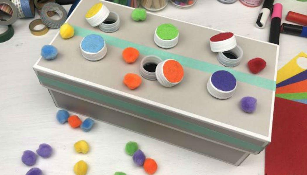 La boîte des couleurs