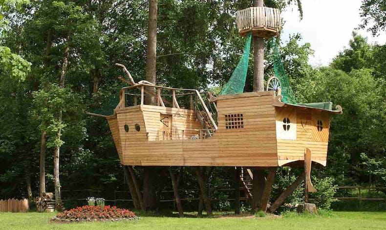 La cabane bateau