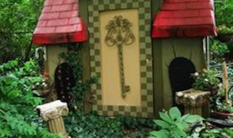 cabane forêt enchantée