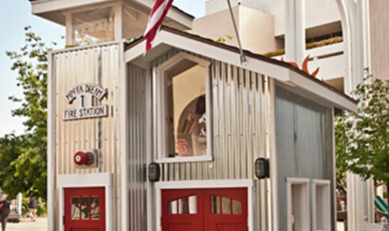 La cabane de pompiers