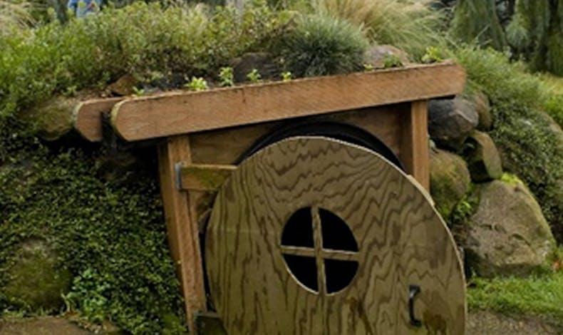 La cabane Hobbit