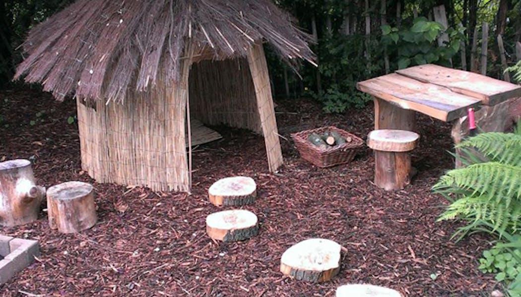 La cabane hutte