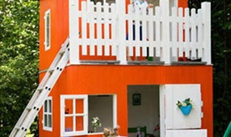 La cabane orange