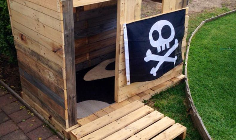 La cabane pirate