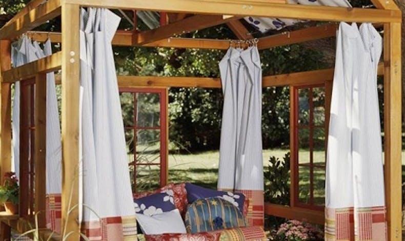 La cabane pour la sieste