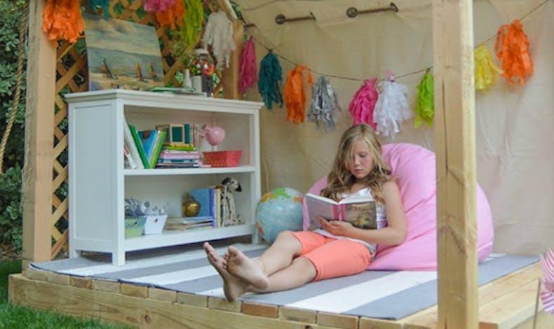 La cabane pour lire