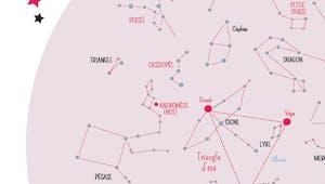 La carte des étoiles