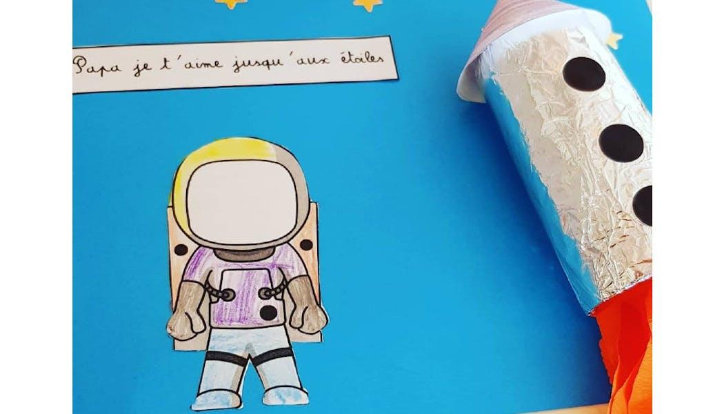 La carte navette spatiale