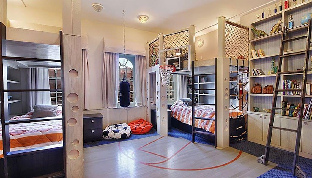 La chambre Basket Ball