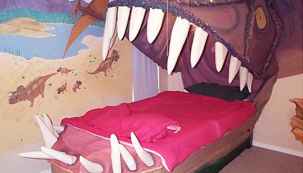 La chambre dinosaure