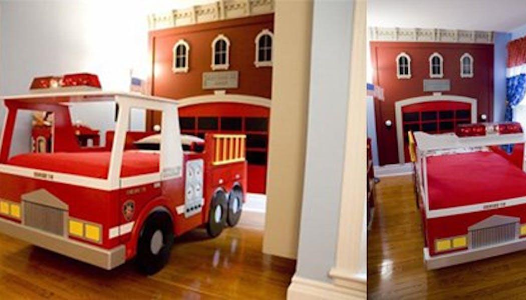 La chambre du pompier
