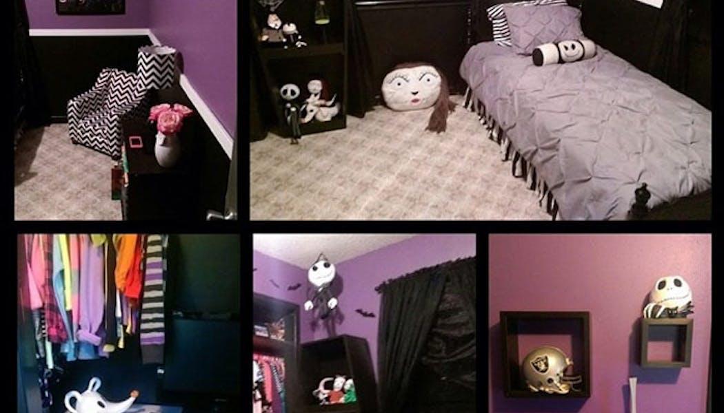 La chambre L'étrange Noël de Monsieur Jack
