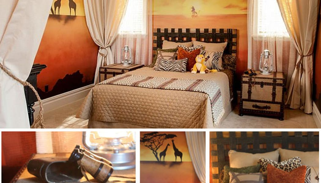 La chambre Roi Lion
