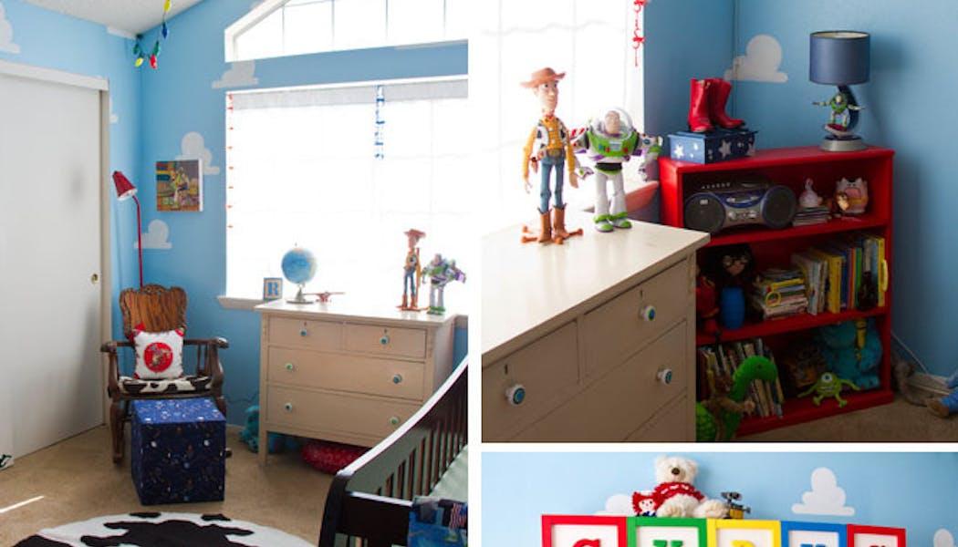 La chambre Toy Story