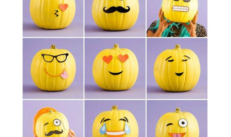 La citrouille Emoji