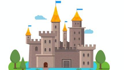 La construction d'un château fort : fiche