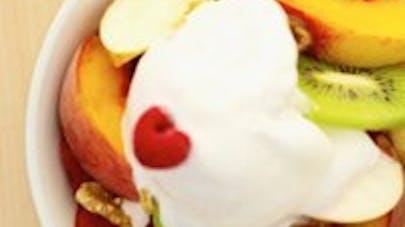 La coupe de petits fruits