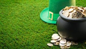 La course au vert - St Patrick
