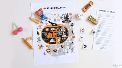 jeu à imprimer halloween