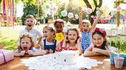 Gouter anniversaire enfant 5 ans