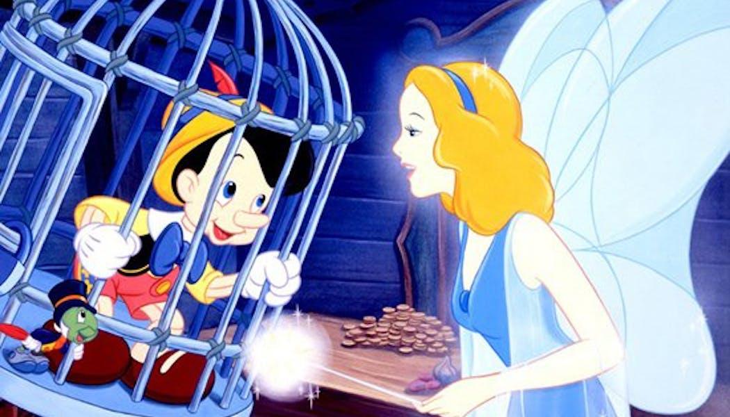 La fée bleue de Pinocchio