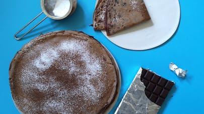Crêpes chocolat