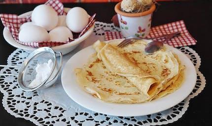 La pâte à crêpes vanillée