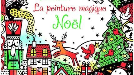 La peinture magique : Noël