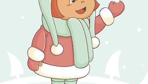 La petit fille qui voulait de la neige