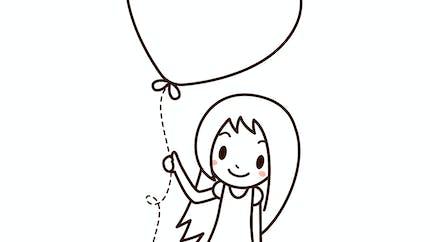 La petite fille au grand coeur
