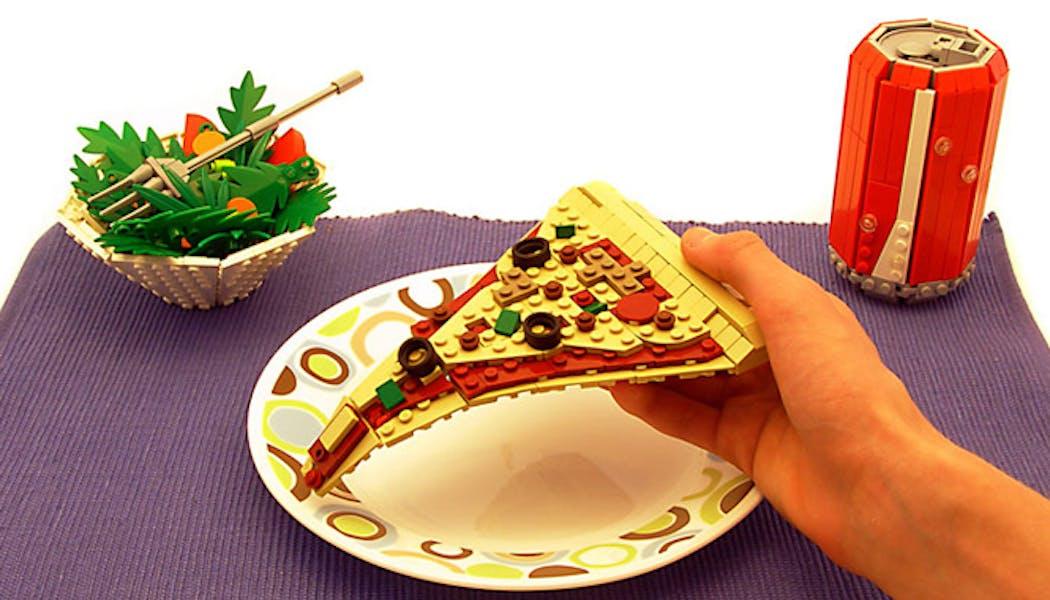 La pizza LEGO