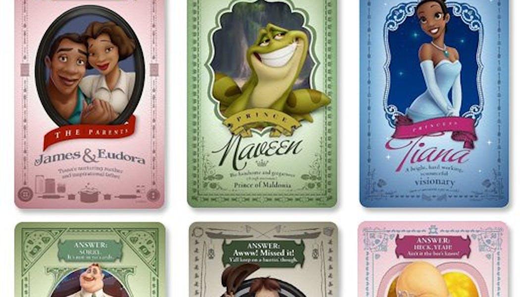 La Princesse et la Grenouille : Les       personnages