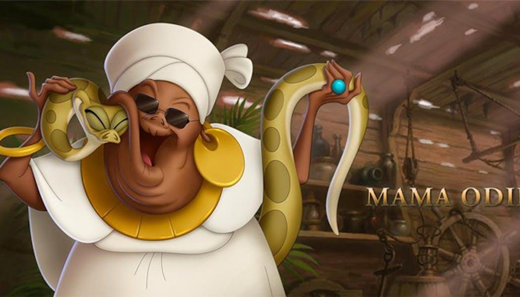 La Princesse et la Grenouille : Mama Odie