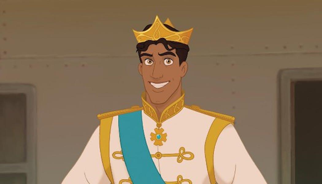 La Princesse et la Grenouille Naveen le Prince