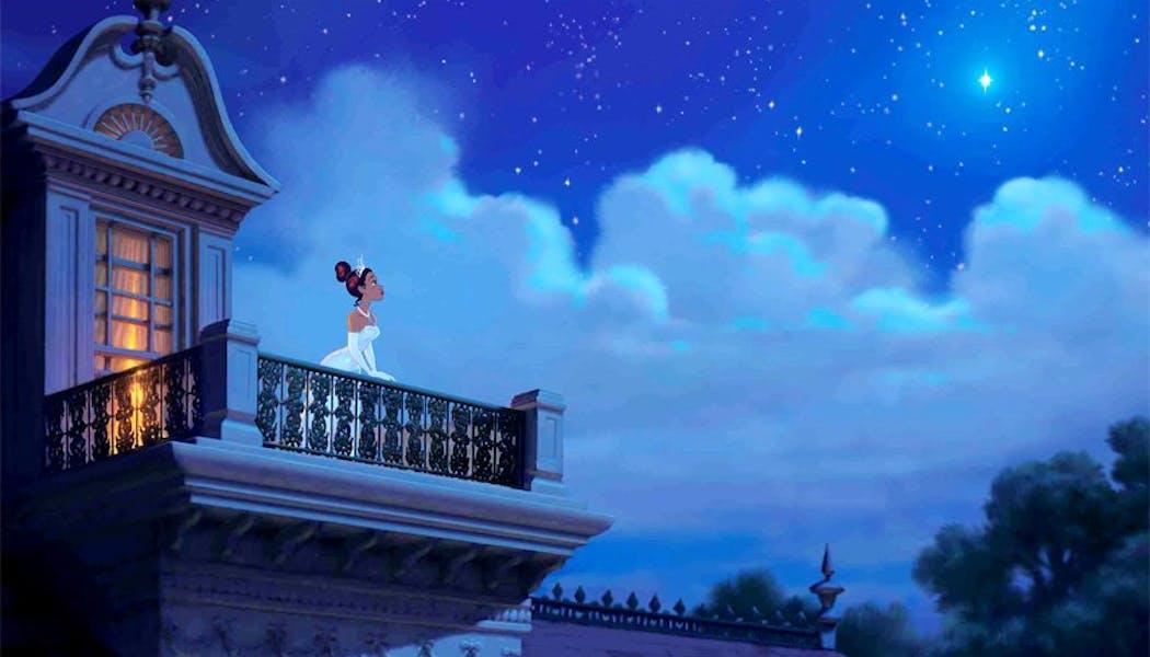 La Princesse et la Grenouille : Tiana et       l'étoile