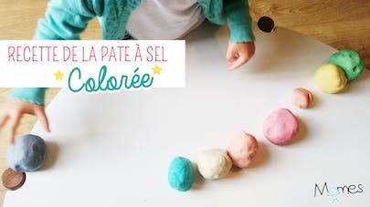 recette pate à sel couleur