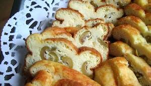 La recette des mini cake aux olives et à la Vache qui rit