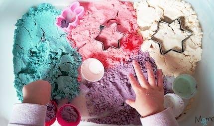 La recette du sable magique