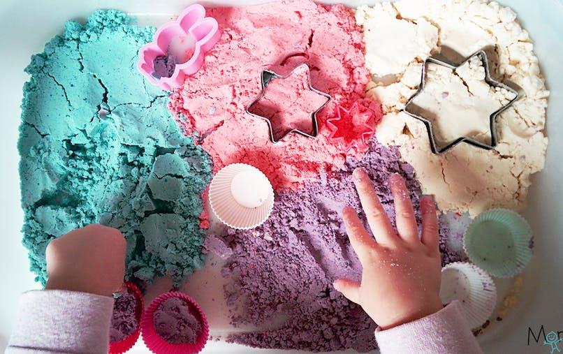 recette du sable magique maison