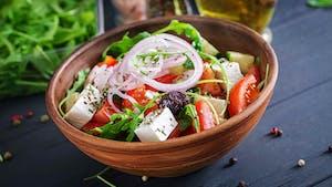 La salade feta, une recette de salade venue de Grèce