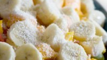 La salade mangue bananes