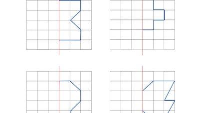 symétrie verticale