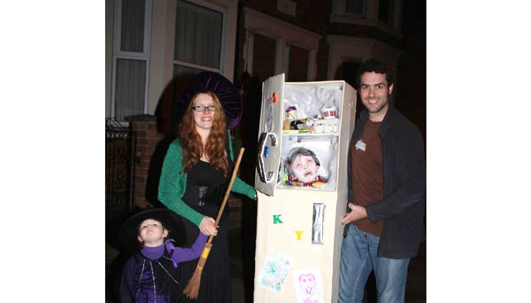 tête dans frigo déguisements enfants halloween