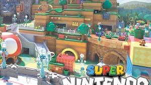 La zone Super Nintendo World du parc Universal Studios Japan se dévoile