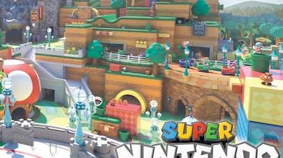 zone Super Nintendo World Parc Universal Studios au       Japon