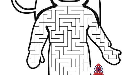 Labyrinthe de l'astronaute