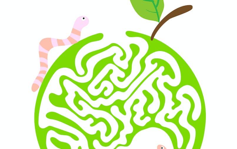 labyrinthe à imprimer